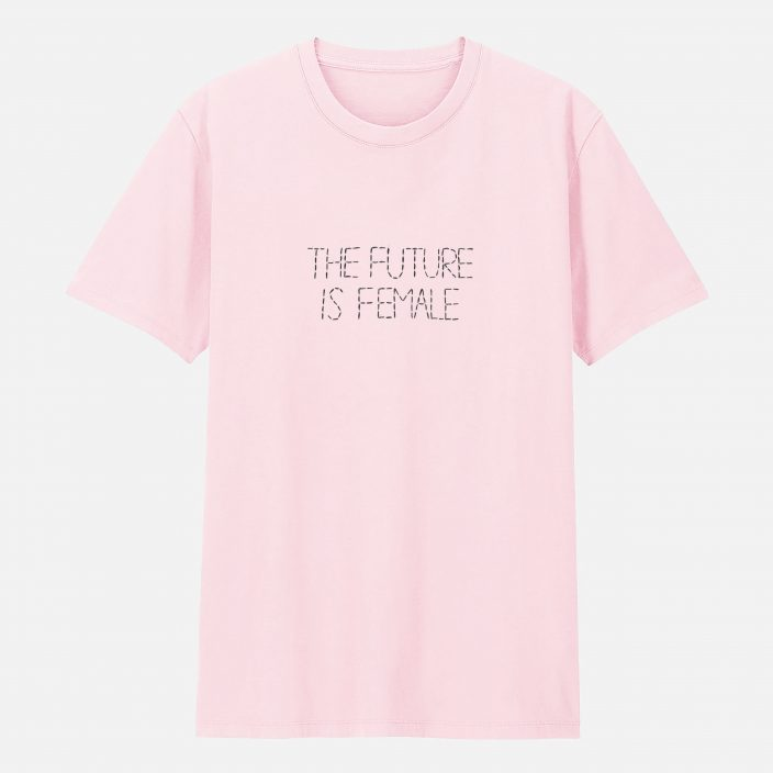 Camiseta Bordada The Future Is Female