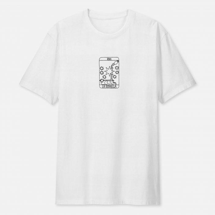 Camiseta Bordada La Estrella