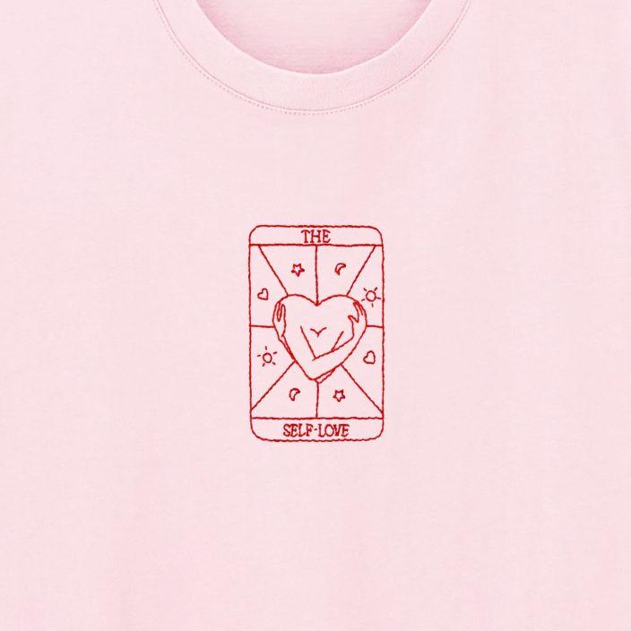 Camiseta Bordada The Self-Love