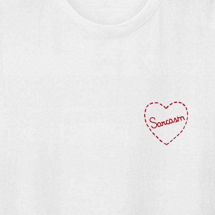 Camiseta Bordada Sarcasm