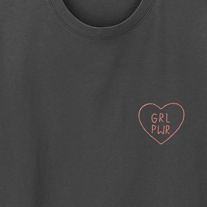 Camiseta Bordada GRL PWR