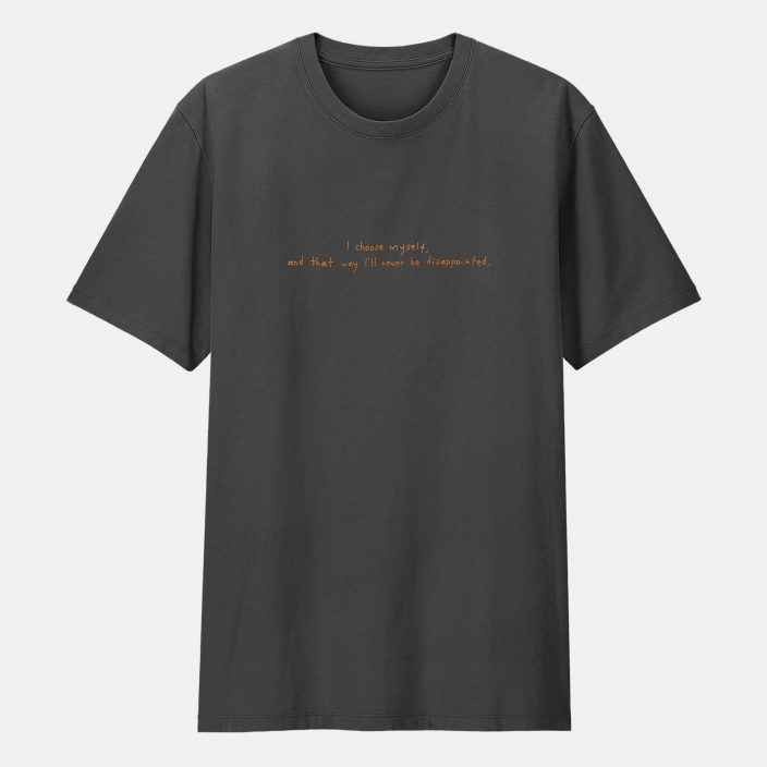 Camiseta Bordada I Choose Myself