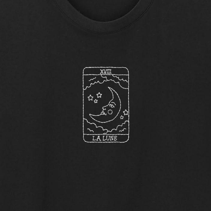Camiseta Bordada La Lune