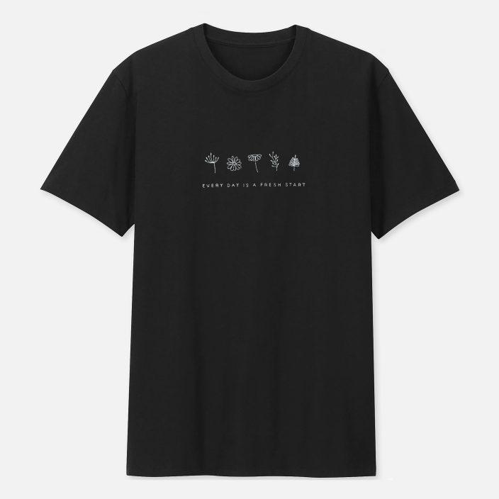 Camiseta Bordada Fresh Start – P